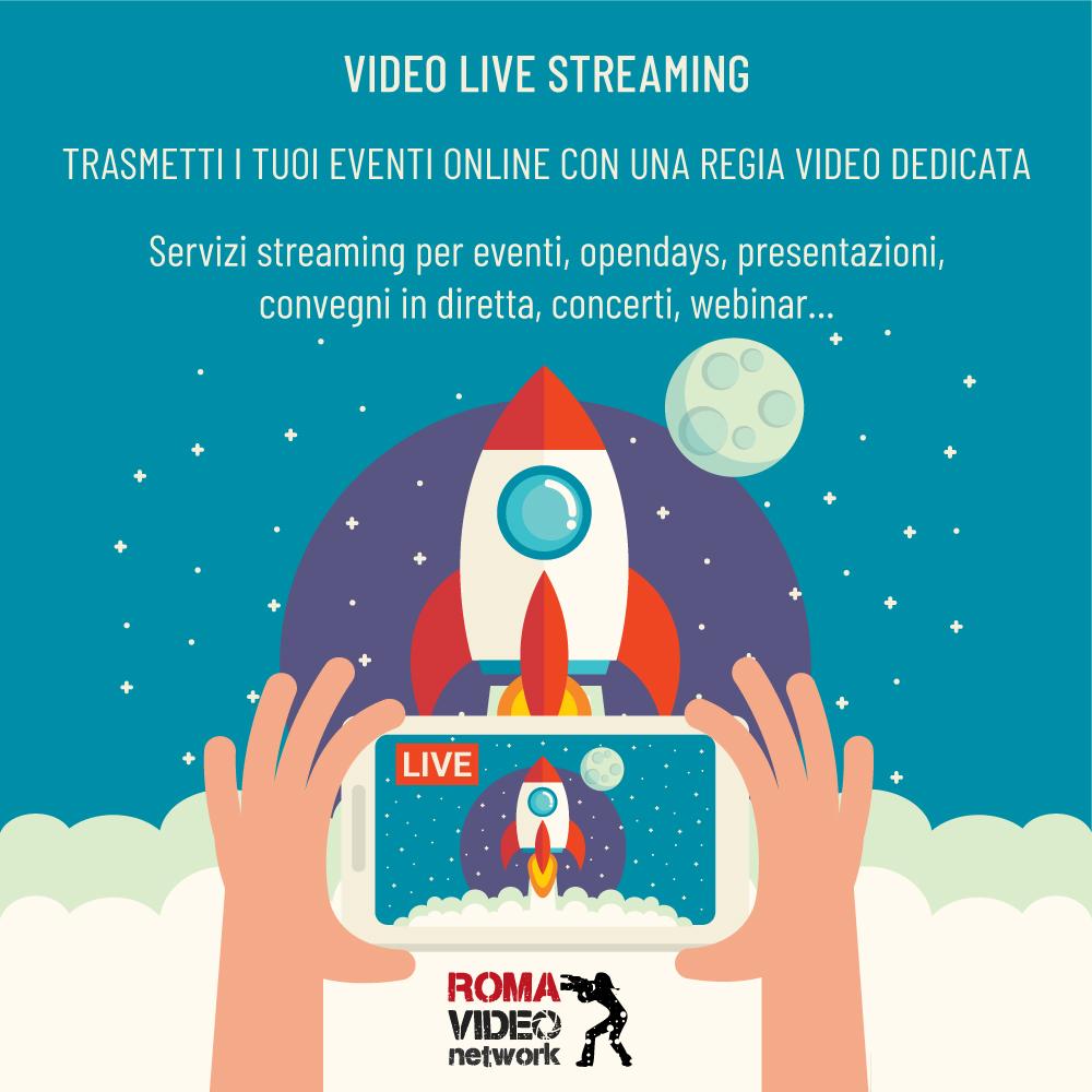 servizi di streaming video a Roma