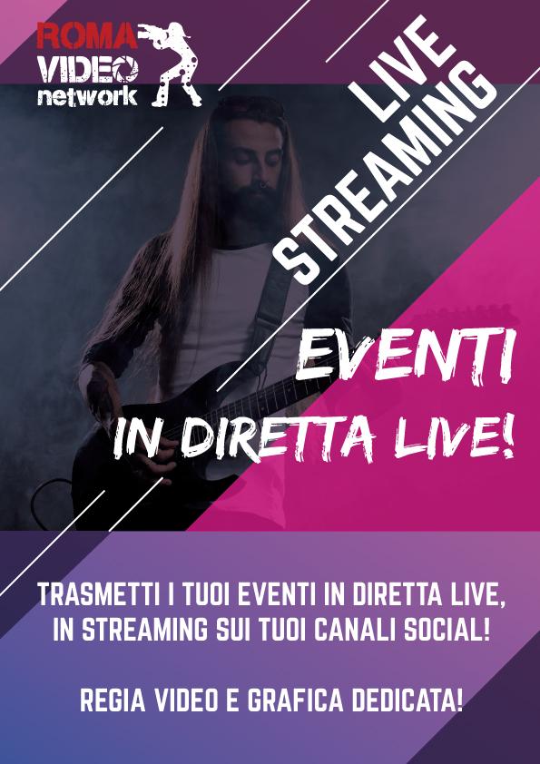 RomaVideo Network produzione video e dirette streaming a Roma